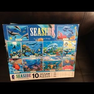 New 10 Jigsaw Puzzles in 1 box